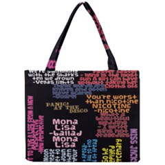 Panic At The Disco Northern Downpour Lyrics Metrolyrics Mini Tote Bag