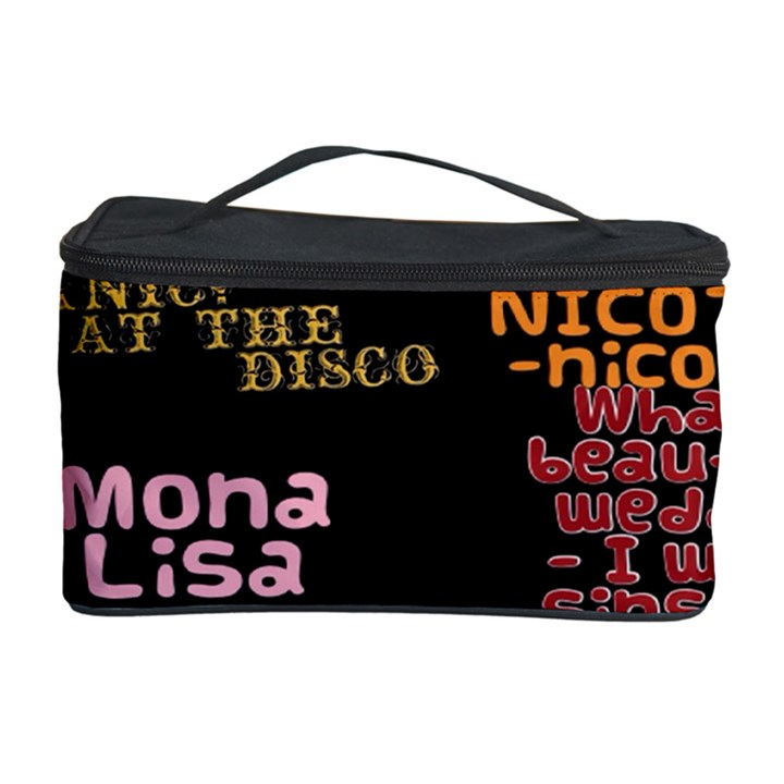 Panic At The Disco Northern Downpour Lyrics Metrolyrics Cosmetic Storage Case