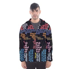 Panic At The Disco Northern Downpour Lyrics Metrolyrics Hooded Wind Breaker (men)