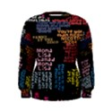 Panic At The Disco Northern Downpour Lyrics Metrolyrics Women s Sweatshirt View1