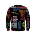 Panic At The Disco Northern Downpour Lyrics Metrolyrics Kids  Sweatshirt View1