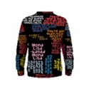 Panic At The Disco Northern Downpour Lyrics Metrolyrics Kids  Sweatshirt View2