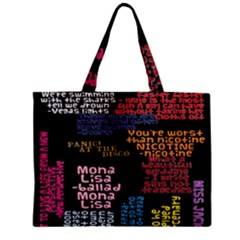 Panic At The Disco Northern Downpour Lyrics Metrolyrics Zipper Mini Tote Bag