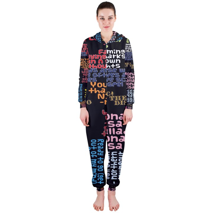 Panic At The Disco Northern Downpour Lyrics Metrolyrics Hooded Jumpsuit (Ladies)