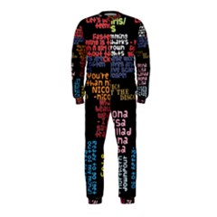 Panic At The Disco Northern Downpour Lyrics Metrolyrics OnePiece Jumpsuit (Kids)