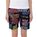 Panic At The Disco Northern Downpour Lyrics Metrolyrics Women s Basketball Shorts View1