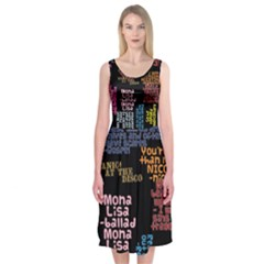 Panic At The Disco Northern Downpour Lyrics Metrolyrics Midi Sleeveless Dress