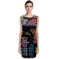 Panic At The Disco Northern Downpour Lyrics Metrolyrics Classic Sleeveless Midi Dress