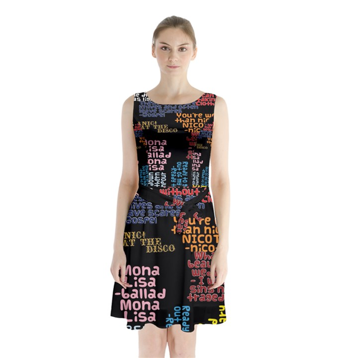 Panic At The Disco Northern Downpour Lyrics Metrolyrics Sleeveless Chiffon Waist Tie Dress