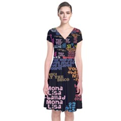 Panic At The Disco Northern Downpour Lyrics Metrolyrics Short Sleeve Front Wrap Dress