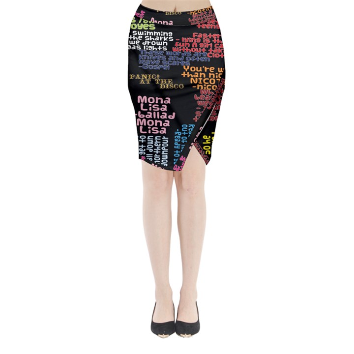 Panic At The Disco Northern Downpour Lyrics Metrolyrics Midi Wrap Pencil Skirt