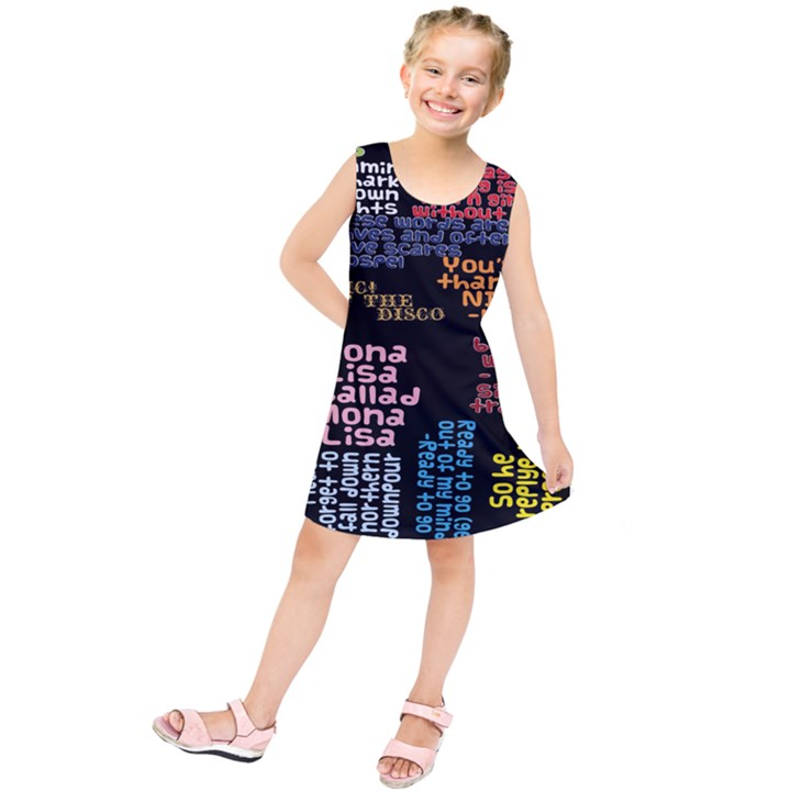 Panic At The Disco Northern Downpour Lyrics Metrolyrics Kids  Tunic Dress
