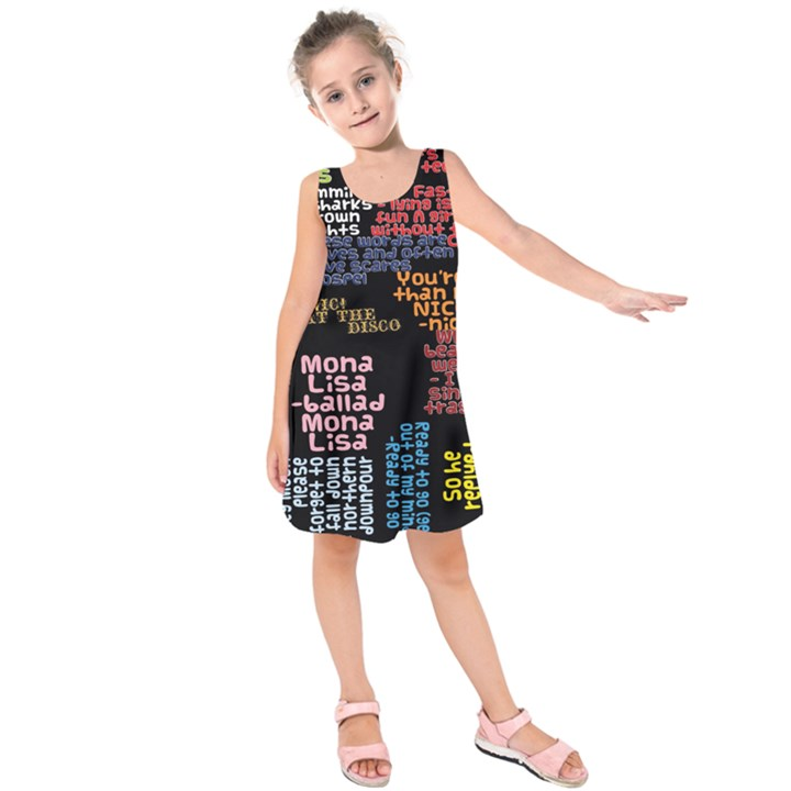 Panic At The Disco Northern Downpour Lyrics Metrolyrics Kids  Sleeveless Dress