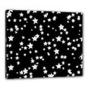 Black And White Starry Pattern Canvas 24  x 20  View1