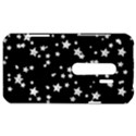 Black And White Starry Pattern HTC Evo 3D Hardshell Case  View1