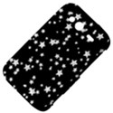 Black And White Starry Pattern HTC Wildfire S A510e Hardshell Case View4