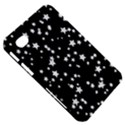 Black And White Starry Pattern Samsung Galaxy Tab 7  P1000 Hardshell Case  View5