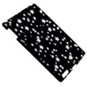 Black And White Starry Pattern Apple iPad 3/4 Hardshell Case View5