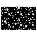 Black And White Starry Pattern Samsung Galaxy Tab 10.1  P7500 Hardshell Case  View1