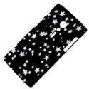 Black And White Starry Pattern Sony Xperia ion View4