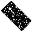 Black And White Starry Pattern Sony Xperia ion View5