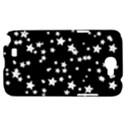 Black And White Starry Pattern Samsung Galaxy Note 2 Hardshell Case View1