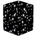 Black And White Starry Pattern Kindle Fire (1st Gen) Flip Case View4