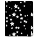 Black And White Starry Pattern Apple iPad 2 Flip Case View2