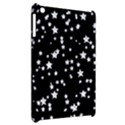 Black And White Starry Pattern Apple iPad Mini Hardshell Case View2
