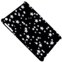 Black And White Starry Pattern Apple iPad Mini Hardshell Case View5