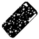 Black And White Starry Pattern Apple iPhone 4/4S Hardshell Case (PC+Silicone) View4