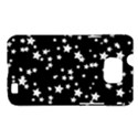 Black And White Starry Pattern Samsung Galaxy S II i9100 Hardshell Case (PC+Silicone) View1