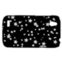 Black And White Starry Pattern HTC Desire V (T328W) Hardshell Case View1