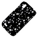 Black And White Starry Pattern HTC Desire V (T328W) Hardshell Case View4