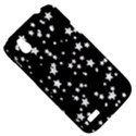 Black And White Starry Pattern HTC Desire V (T328W) Hardshell Case View5