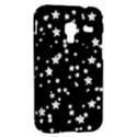 Black And White Starry Pattern Samsung Galaxy Ace Plus S7500 Hardshell Case View2