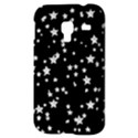 Black And White Starry Pattern Samsung Galaxy Ace Plus S7500 Hardshell Case View3