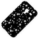 Black And White Starry Pattern Samsung Galaxy Ace Plus S7500 Hardshell Case View4