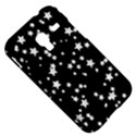 Black And White Starry Pattern Samsung Galaxy Ace Plus S7500 Hardshell Case View5