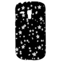 Black And White Starry Pattern Samsung Galaxy S3 MINI I8190 Hardshell Case View3
