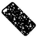 Black And White Starry Pattern Apple iPhone 5 Hardshell Case with Stand View5
