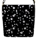 Black And White Starry Pattern Flap Covers (S)  View1