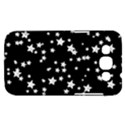 Black And White Starry Pattern Samsung Galaxy Win I8550 Hardshell Case  View1