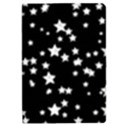 Black And White Starry Pattern iPad Mini 2 Flip Cases View1