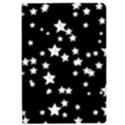 Black And White Starry Pattern iPad Air Flip View1