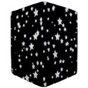 Black And White Starry Pattern iPad Air Flip View3