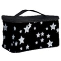 Black And White Starry Pattern Cosmetic Storage Case View2