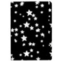 Black And White Starry Pattern iPad Air 2 Flip View2