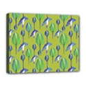Tropical Floral Pattern Canvas 14  x 11  View1
