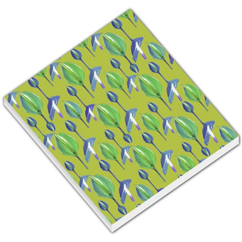 Tropical Floral Pattern Small Memo Pads